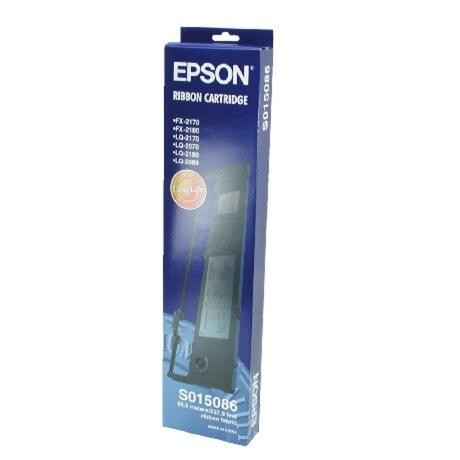 Image of Epson C13S015086 Farbband Nylon schwarz