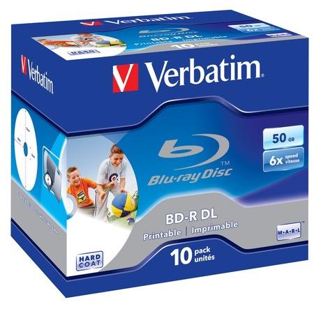 Image of Verbatim Blu-ray BD-R 50GB 6x JC(10)