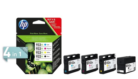 Image of HP 932XL + 933XL Tinte Multipack