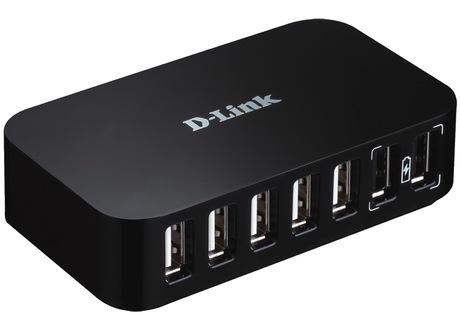 Image of D-Link DUB-H7 USB 2.0 Hub 7-Port