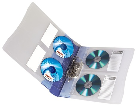 Image of Hama CD/DVD Ordnerhüllen DIN A4