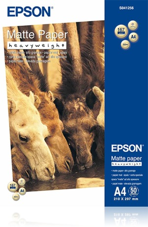 Image of Epson Matte Paper Heavy Weight A4 Papier
