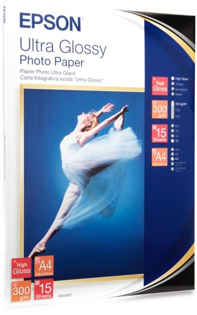 Image of Epson Ultra Glossy A4 Fotopapier