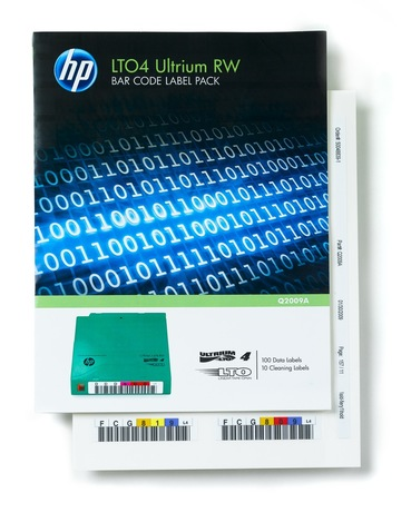 Image of HP Ultrium 4 Barcode Label-Pack (100+10)