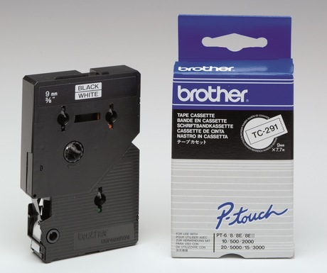 Brother TC-291 Schriftband