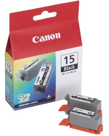 Image of Canon BCI-15 Tinte schwarz 2-Pack