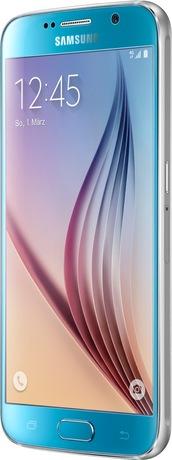 Samsung Galaxy S6 64 GB Smartphone blau (Schweizer Ausführung)