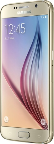 Samsung Galaxy S6 64 GB Smartphone gold (Schweizer Ausführung)