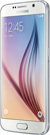 Samsung Galaxy S6 64 GB Smartphone weiß (Schweizer Ausführung)
