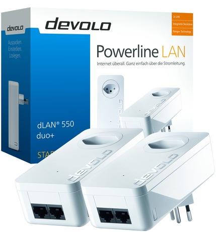 Image of devolo dLAN 550 duo+ Starter Kit