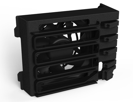 Image of HP Z440 Fan and Front Card Guide Kit
