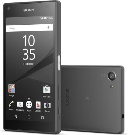 Sony Xperia Z5 Compact Smartphone, schw. (Schweizer Ausführung)