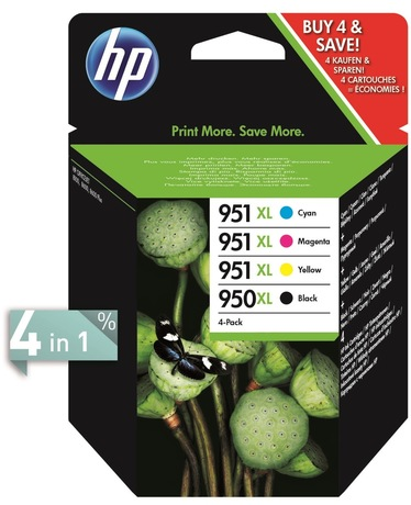 Image of HP 950XL + 951XL Tinte Multipack