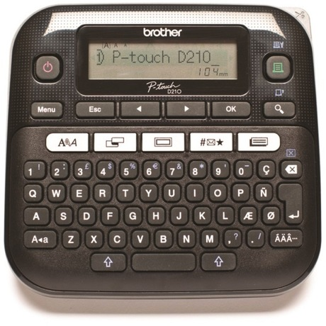 Image of Brother P-touch D210VP Beschriftung