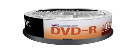 Image of Sony DVD-R 4,7GB 16x SP(10)