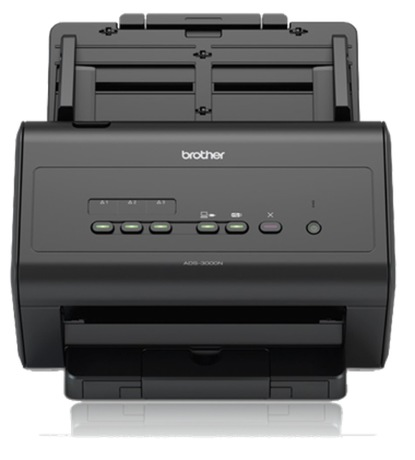 Image of Brother ADS-3000N Duplex Scanner
