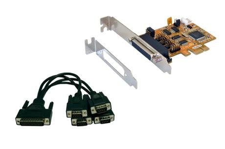 Image of Exsys 4S Serielle RS-232 PCI-Ex Karte