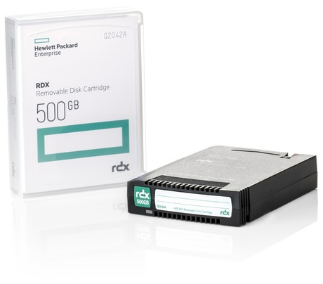 Image of HPE RDX 500 GB Q2042A Cartridge