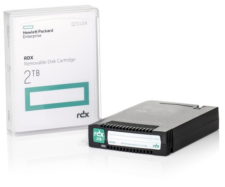 Image of HPE RDX 2 TB Q2046A Cartridge