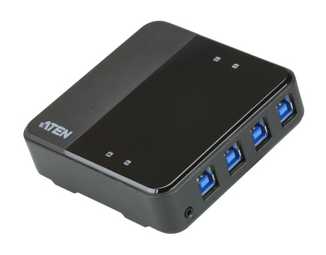 Image of ATEN US434 USB 3.0 Sharing Switch 4 Port