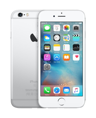 Image of Apple iPhone 6s 128 GB silber
