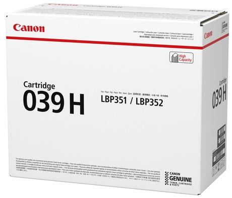 Image of Canon 039H Toner schwarz