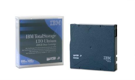Image of IBM LTO 3 Ultrium Tape