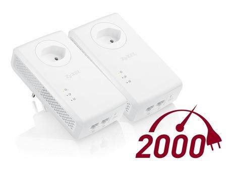 Image of Zyxel Powerline PLA5456 Starter Kit