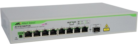 Image of Allied Telesis AT-FS708/POE Switch