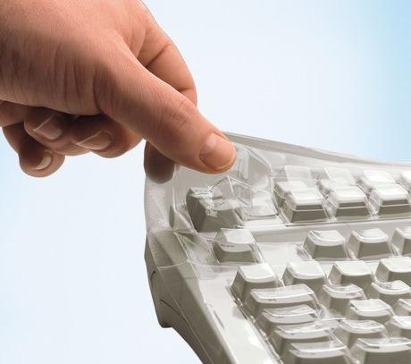 Image of CHERRY G85-23200 Tastatur-Schutzfolie