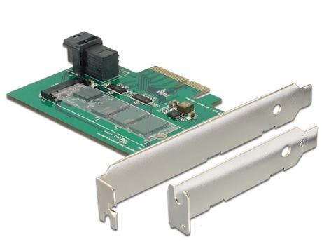 Image of Delock 1 x M.2 (NVMe) PCIe Schnittstelle