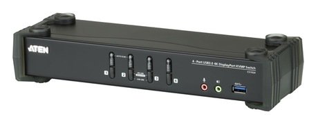 Image of ATEN 4-Port USB 3.0 4K DP KVMP Switch
