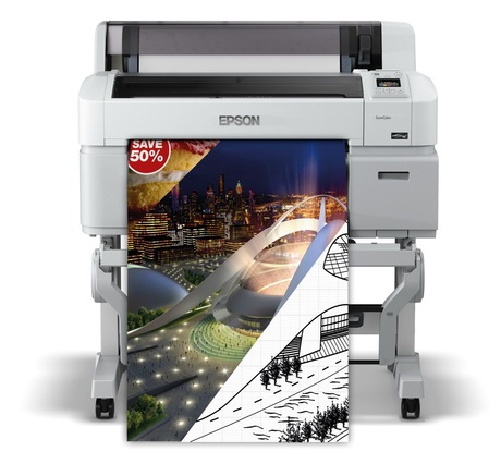 Image of Epson SC-T3200 A1 Plotter