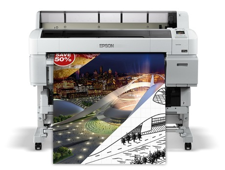 Image of Epson SC-T5200 A0 Plotter