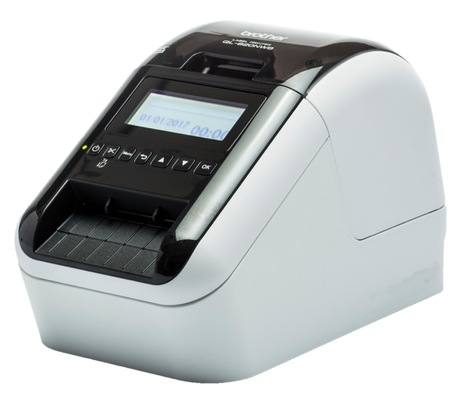 Image of Brother QL-820NWB Drucker