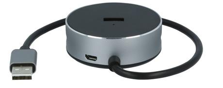 Image of ARP USB 2.0 Travel Hub 4-Port, Audio