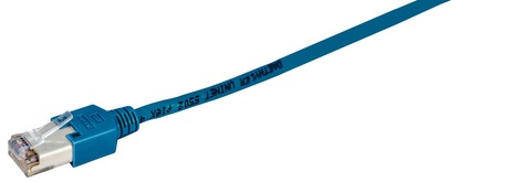 Image of Patchkabel Kat.5e,S/UTP,RJ45,0,5m,blau