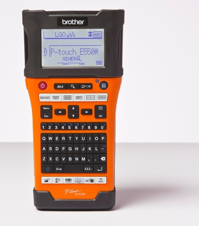 Image of Brother P-touch PT-E550WVP Beschriftung