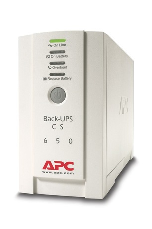 Image of APC Back UPS CS 650, USV 230V