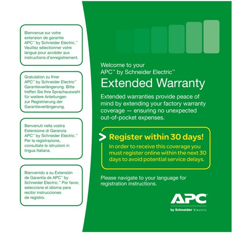 Image of APC Garantieverlängerung SP01, +1 Jahr