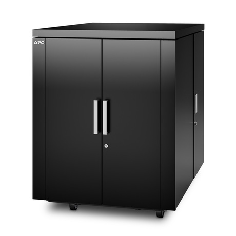 Image of APC NetShelter CX Rack 18U, schwarz