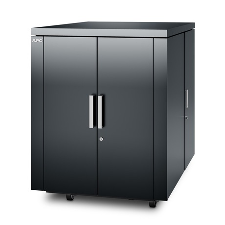 Image of APC NetShelter CX Rack 18U, anthrazit