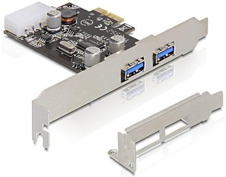 Image of Delock 2 x USB 3.0 PCIe Schnittstelle