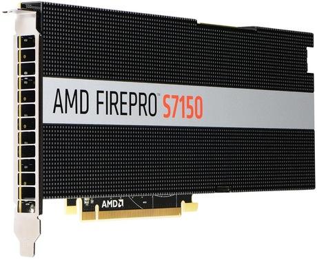Image of AMD FirePro S7150 Grafikkarte