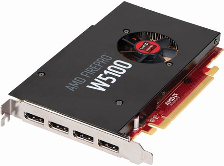 Image of AMD FirePro W5100 Grafikkarte