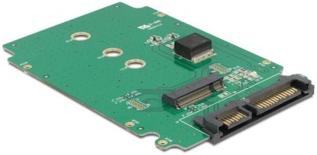 Image of Delock Konverter SATA 22 Pin - M.2 NGFF