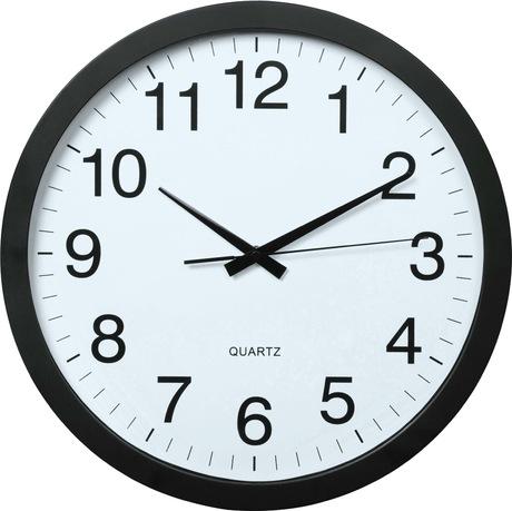 Image of Hama PG-400 Jumbo Wand-Uhr schwarz