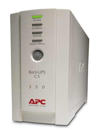Image of APC Back UPS CS 350, USV 230V