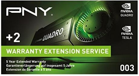 Image of PNY Quadro 5 Jahre Garantieerweiterung