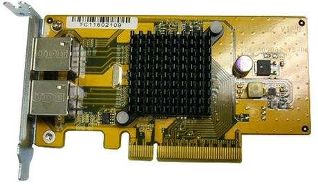 Image of QNAP 1-GbE Dual-Port Netzwerkkarte